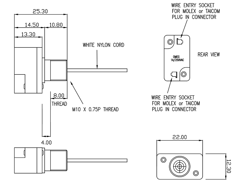 Sensational Pull Cord Switches On Off Or Momentary Function Wiring Digital Resources Timewpwclawcorpcom